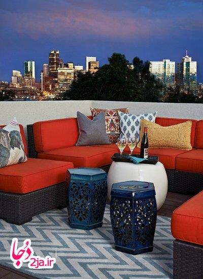 Deck Eclectic by Andrea Schumacher Interiors